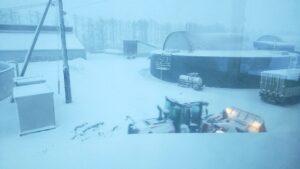 大雪⛄️吹雪⛄️注意報!!!!